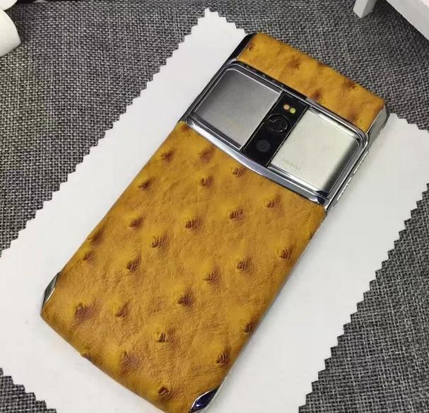 2017年4.7寸 威图智能手机 蓝宝石水晶屏 三网4G 4G+128G 鳄鱼皮